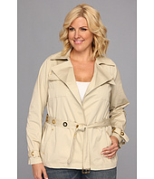 MICHAEL Michael Kors - Plus Size Grommet Safari Jacket