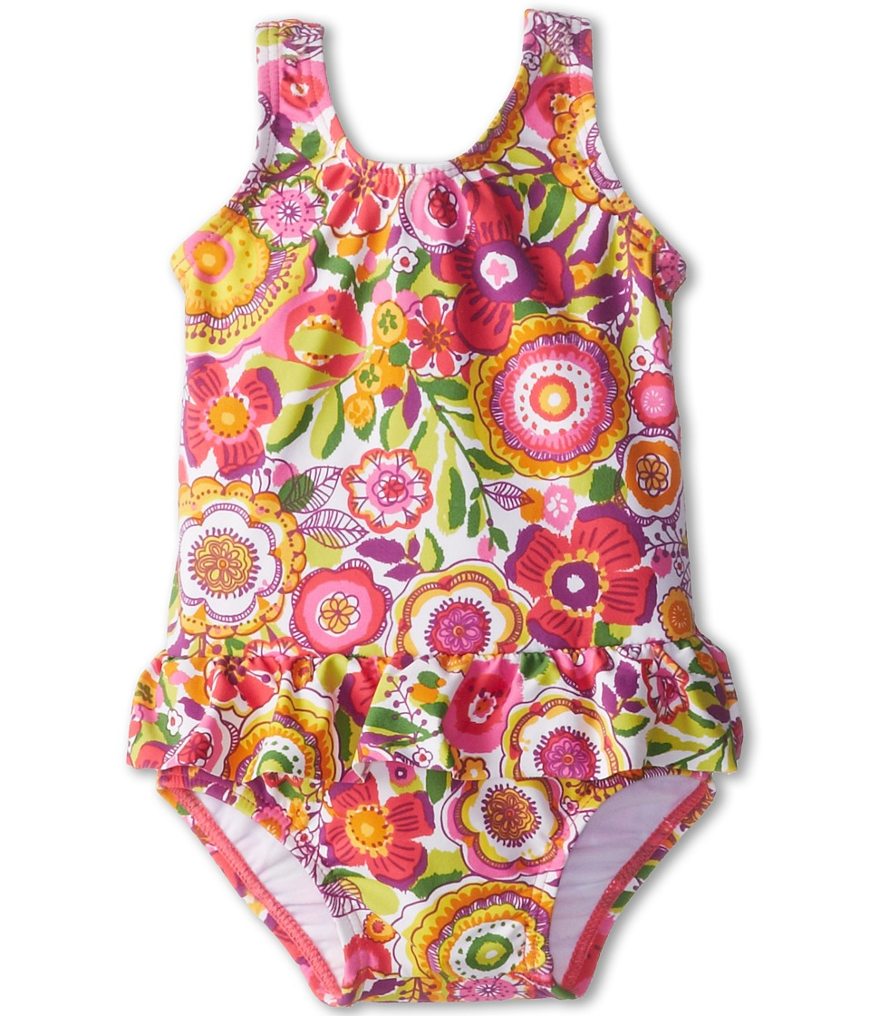 Vera Bradley Baby Swimsuit (Infant) (Clementine) Women's Swimsuits One Piece<br />