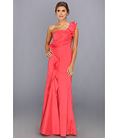 Jessica Simpson - One Shoulder Ruffle Gown