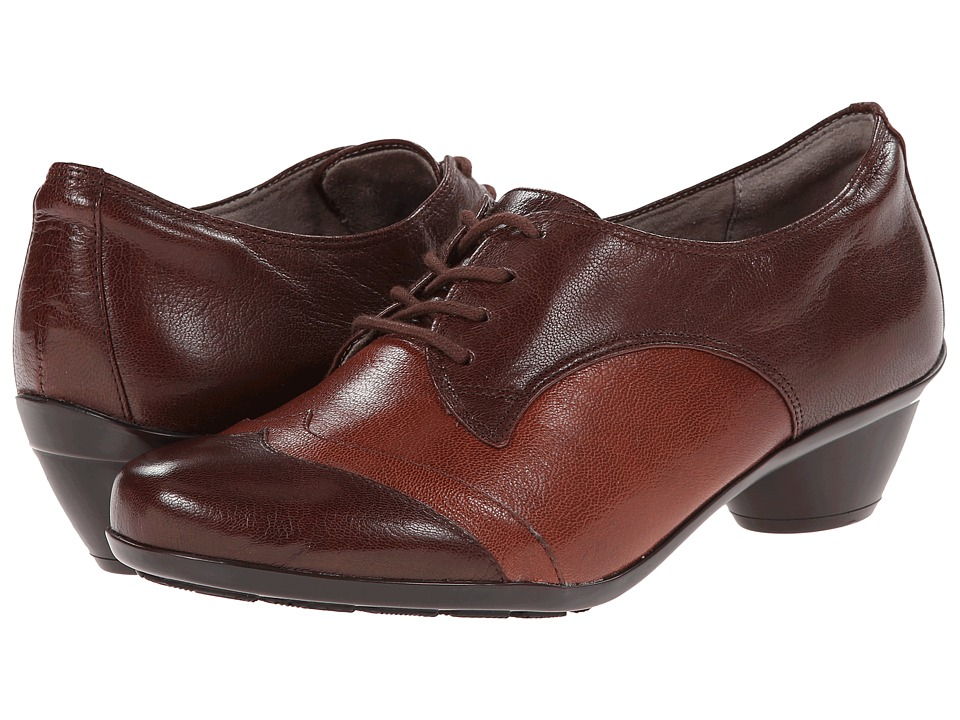 Naturalizer Hampshire (Bridal Brown/Burnt Siena Leather) Women's Shoes