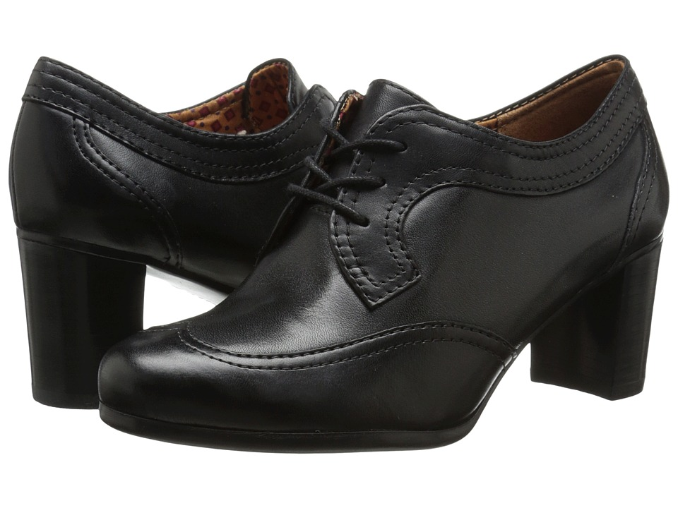 Naturalizer Macia (Black Leather/Shiny) Women's Shoes