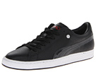 PUMA - Basket Classic PP (Black/High Risk Red) -