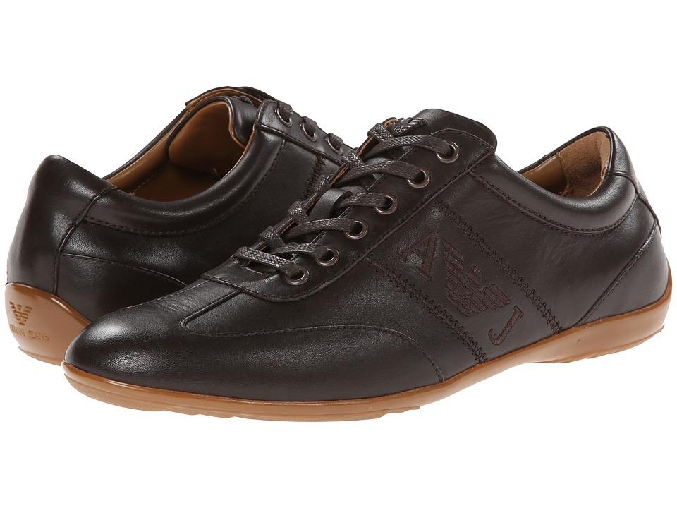 Armani Jeans 0M534T47G Brown Mens Shoes