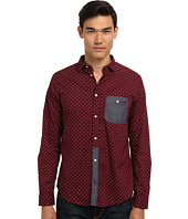 Armani Jeans - Printed Cotton All Over Eagle w/ Chambray