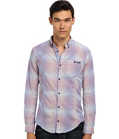 Armani Jeans - Yarn Dyed Cotton Check Faded Effect Shirt