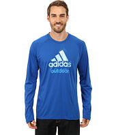 adidas Outdoor - Hiking Dri-Release Logo Long Sleeve Tee