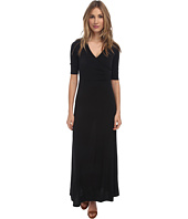 Christin Michaels - Ali 3/4 Sleeve Wrap Dress