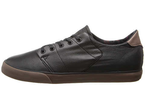 Globe Shoes Black Low Leather Los Angered