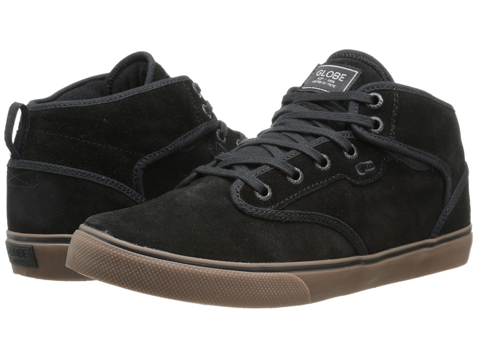 Globe Motley Mid (Black/Tobacco Gum) Men