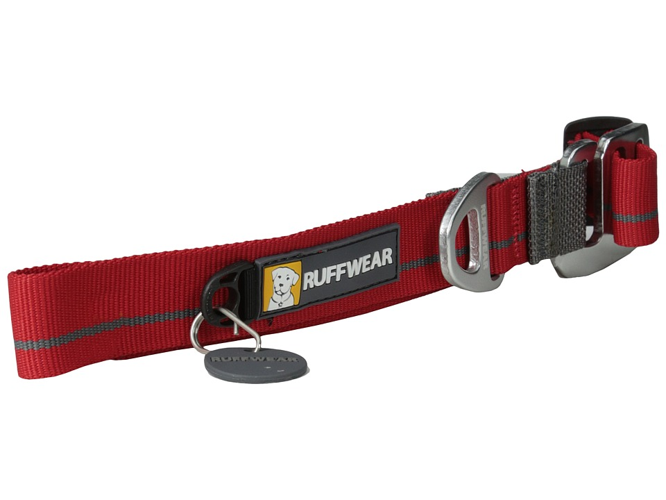 Ruffwear Crag Collar Red Currant Dog Collar