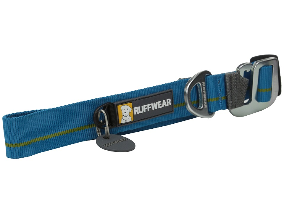 Ruffwear Crag Collar Baja Blue Dog Collar