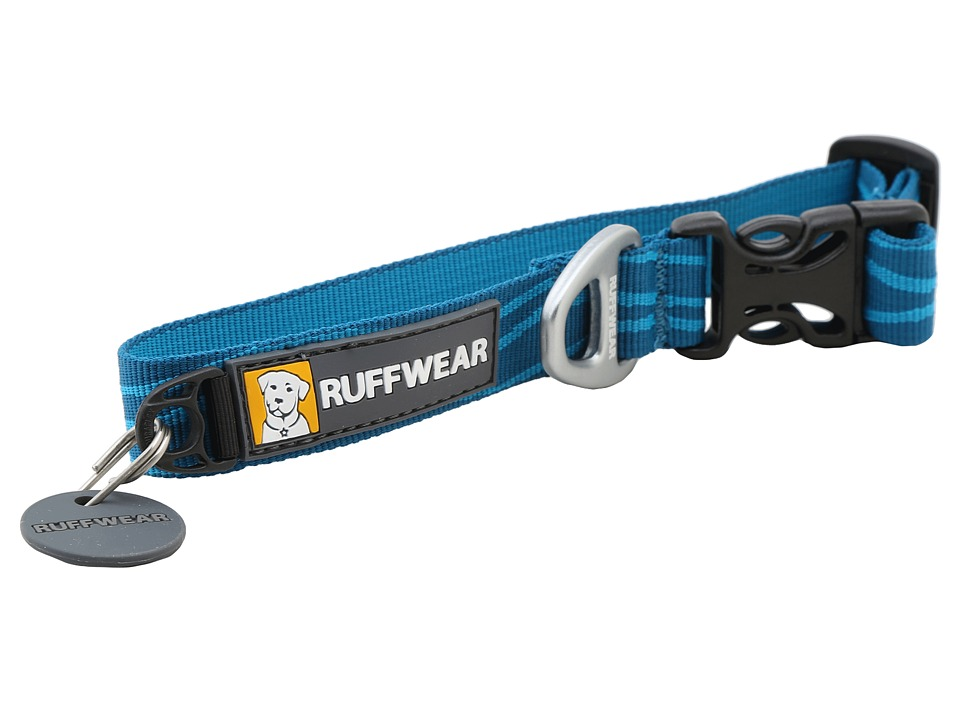 Ruffwear Hoopie Collar Pacific Wave Dog Collar