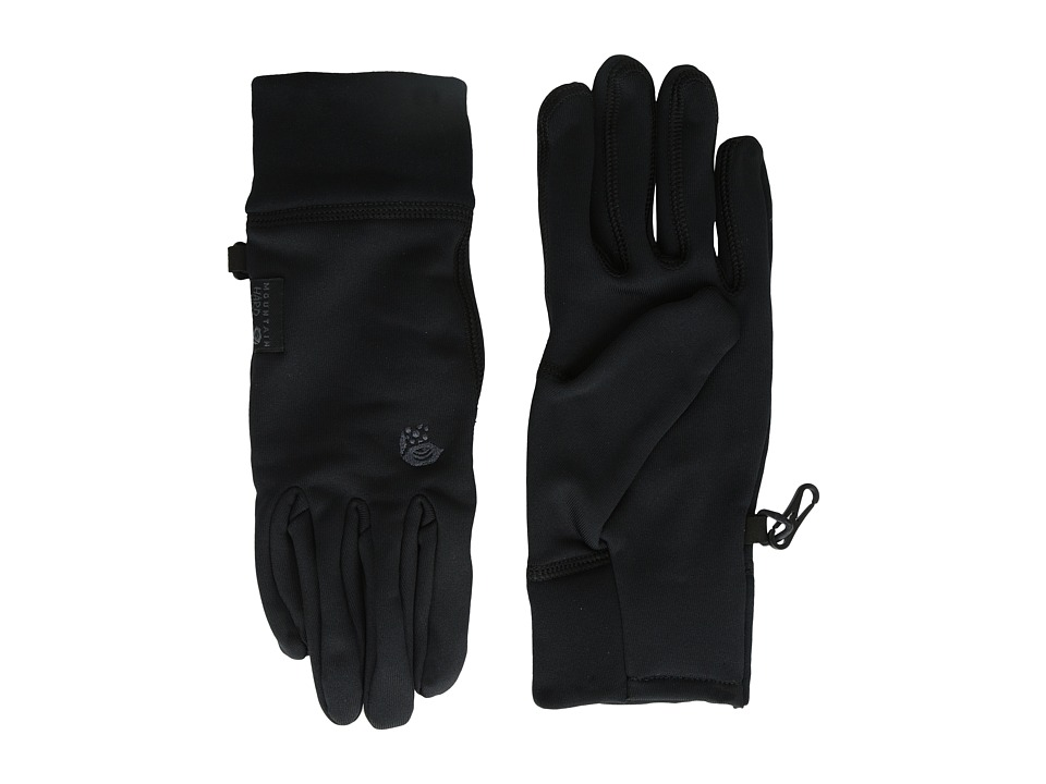 Mountain Hardwear Power Stretch Glove (Black) Liner Gloves