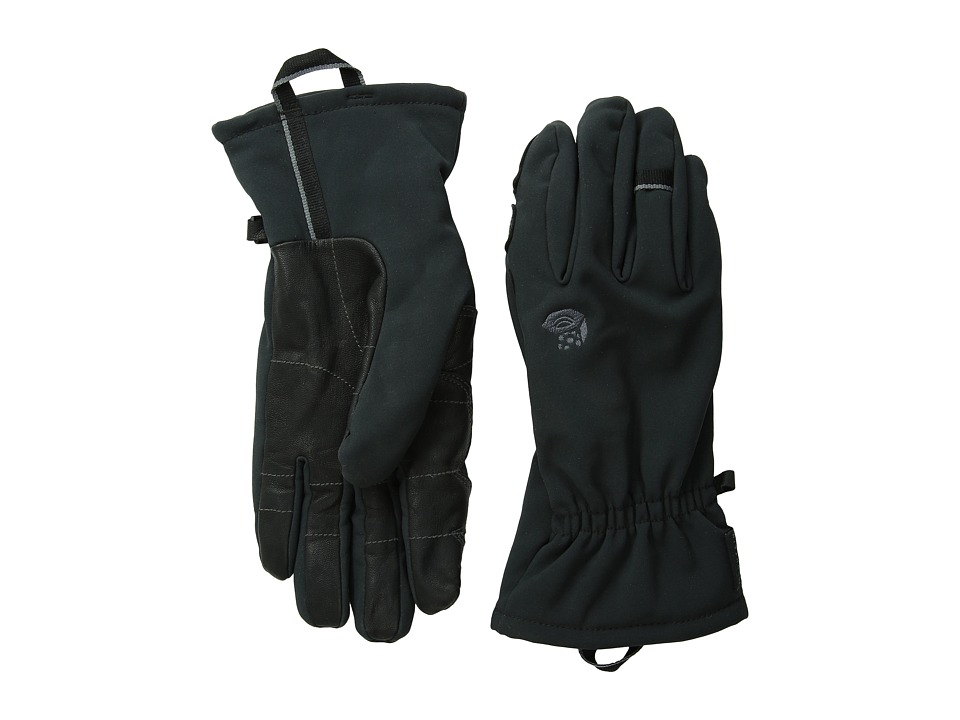 Mountain Hardwear Torsion Insulated Glove (Black) Extreme Cold Weather Gloves