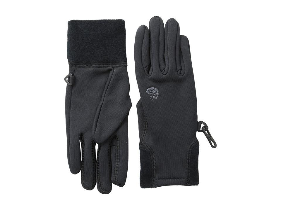 Mountain Hardwear Power Stretch Glove (Black) Extreme Cold Weather Gloves