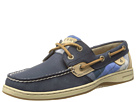 Sperry Top-Sider - Bluefish 2-Eye (Navy/Plaid Novelty)