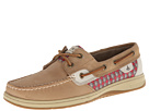 Sperry Top-Sider - Bluefish 2-Eye (Linen/Red Foulard)