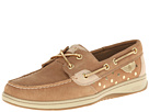 Sperry Top-Sider - Bluefish 2-Eye (Linen/Gold Metallic Dot)