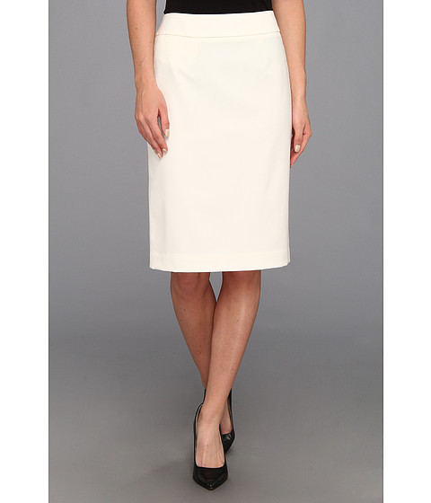 Cream Colored Pencil Skirt