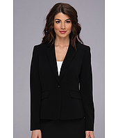 Nine West - One Button Bi Stretch Peak Collar Jacket