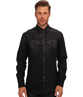 Just Cavalli - Coated Denim Button Up