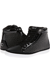 Just Cavalli - Soft and Patent Leather Hi-Top Sneaker