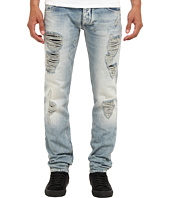 Armani Jeans - Slim Fit Light Wash w/ Rip and Repair