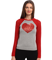 LOVE Moschino - Glitter Heart Sweater