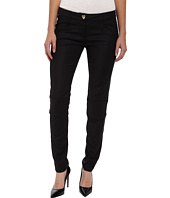 LOVE Moschino - Gold Heart Button Pants with Knee Detail