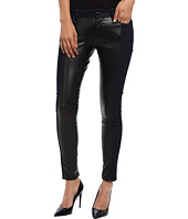 LOVE Moschino - Stretch Denim Pants With Black Shiny Inset
