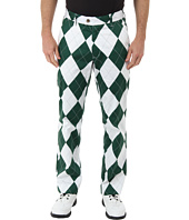 Loudmouth Golf - Green And White Pant