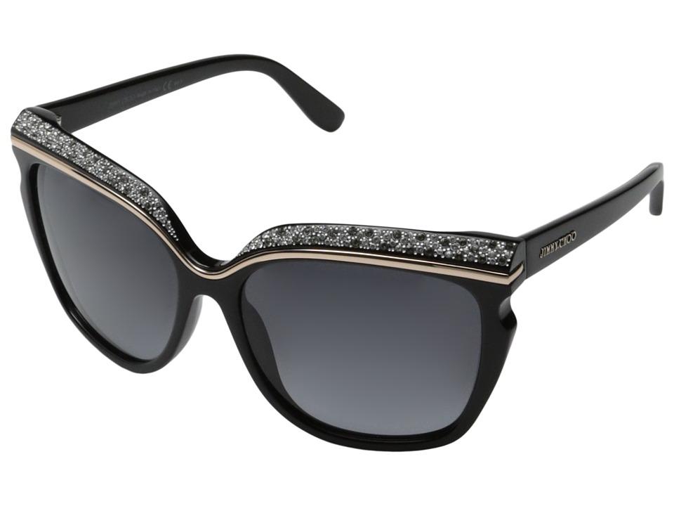 Jimmy Choo Sophia/S Black/Grey Gradient Fashion Sunglasses