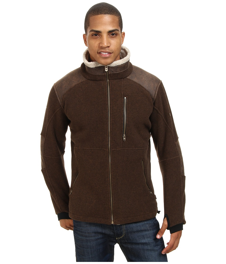 Kuhl Alpenwurx Brown Mens Fleece