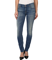 7 For All Mankind - The Skinny w/ Squiggle in Bright Light Broken Twill
