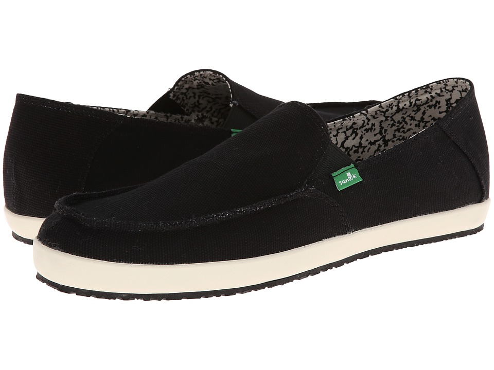 Sanuk - Casa (Black) Men