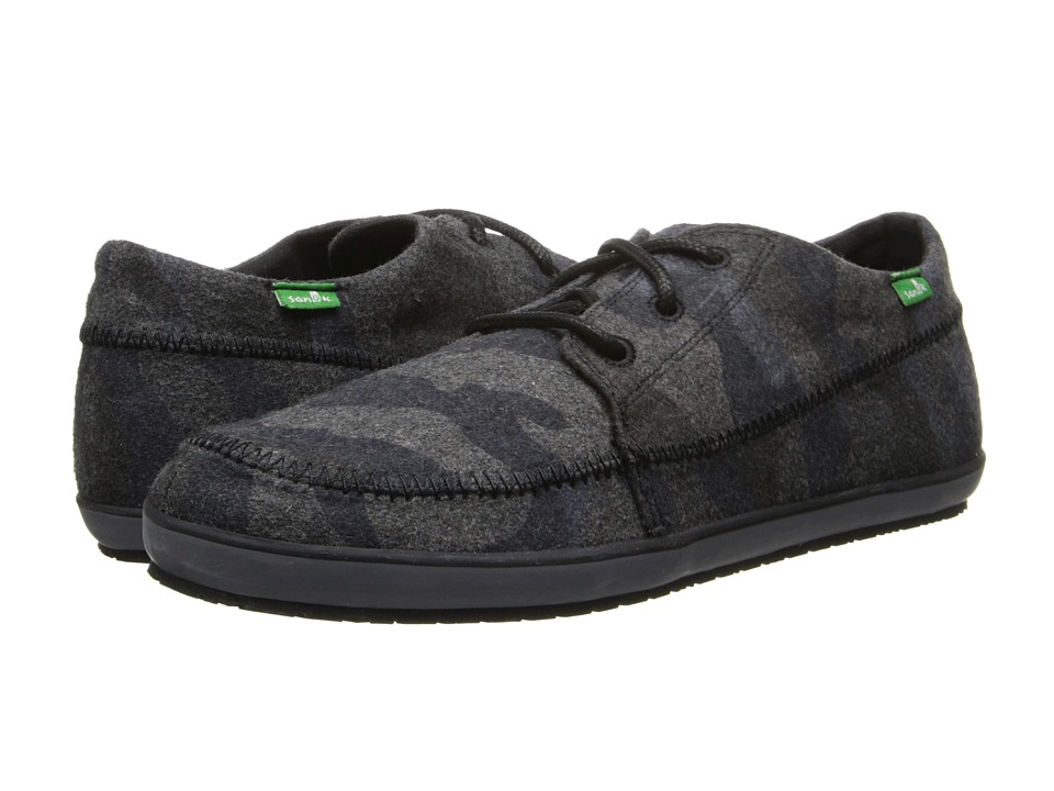 Sanuk Cassius Funk Grey Camo Mens Shoes