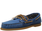 Sperry Top-Sider - A/O Burnished Canvas (Blue)