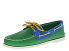 Sperry Top-Sider - A/O 2-Eye Flag (Green/Blue)