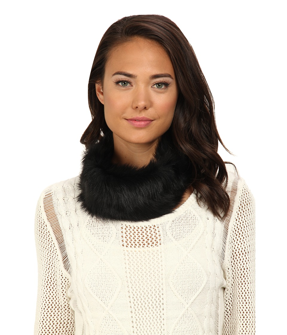 UGG - Layna Long Pile Headband / Snood (Black) Traditional Hats