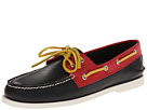 Sperry Top-Sider - A/O 2-Eye Flag (Black/Red)