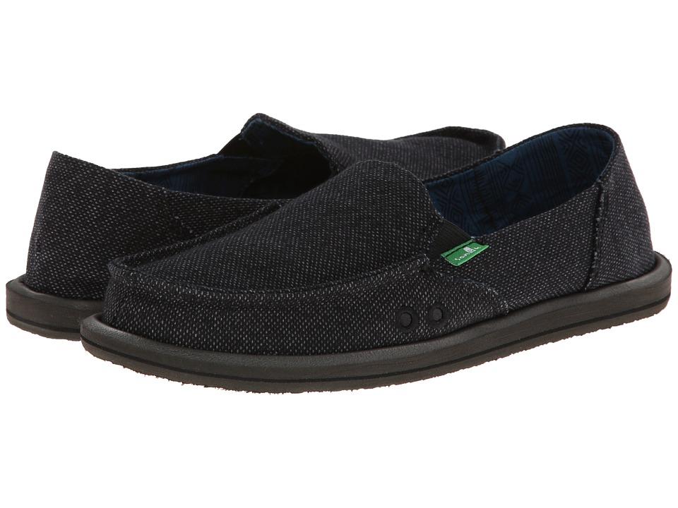 Sanuk - Donna Paige (Black) Womens Shoes