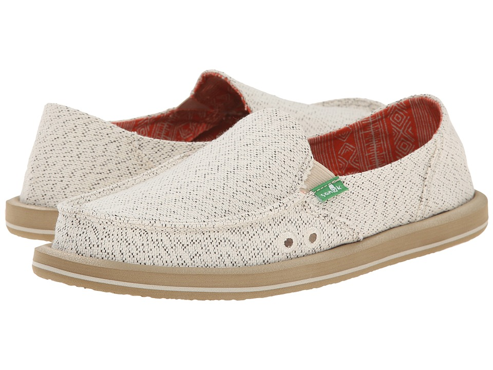Sanuk Donna Paige (Natural) Women's Shoes