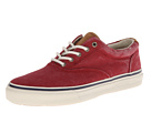Sperry Top-Sider - Striper CVO Canvas (Red Salt Wash)