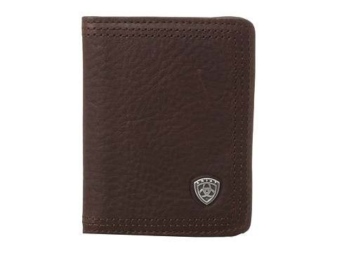 Ariat Ariat Shield Bi-Fold Wallet - Dark Copper