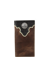 Ariat - Tooled Overlay Rodeo Wallet