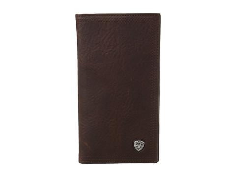 Ariat Ariat Shield Rodeo Wallet - Dark Copper