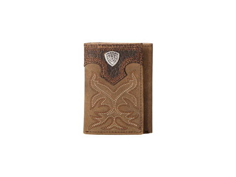 Ariat Ariat Shield Boot Stitch Tri-Fold Wallet