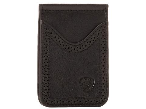 Ariat Ariat Shield Perforated Edge Money Clip - Black