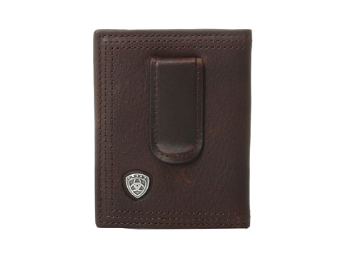 Ariat Ariat Shield Bi-Fold Money Clip - Dark Copper