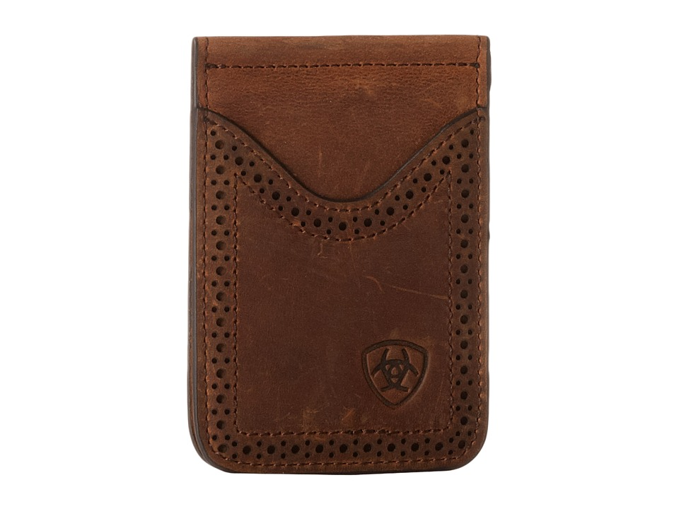 Ariat - Ariat Shield Perforated Edge Money Clip